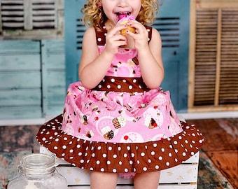 Custom Boutique Clothing  Cupcake   Sassy Girl Dress