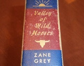 Valley of Wild Horses by Zane Grey American Western 1927