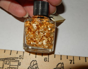 bottle of Gold Flakes
