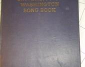 1909 UNIV of WASHINGTON Song Book Memorabilia 1909 RARE song book uw,  hardback book, music, songs, football, Sports, Cheers