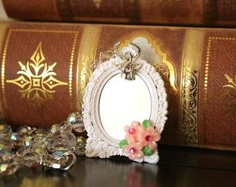 ying yang stone necklace