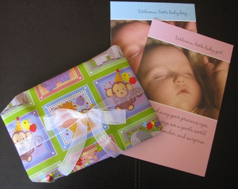 Gift Wrap with Full Size Card