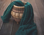 Green Laced Wool Wrap