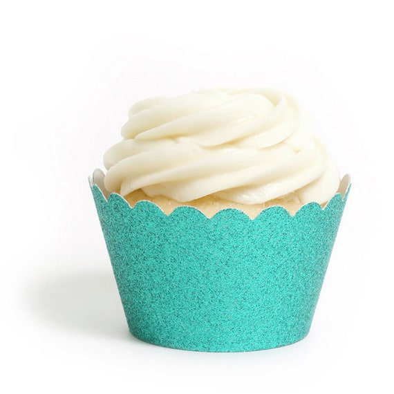 tiffany blue cupcake wrapper
