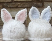 Baby Knit Bunny Hats | HAT ONLY