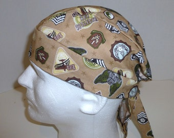 Military Insignia Skull Cap