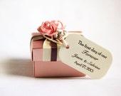 150 Mini Wedding Favor Gift Tags - Forever Design