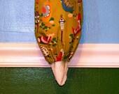 Grocery Bag Dispenser- Plastic Bag Holder- Hens on Green- 7005