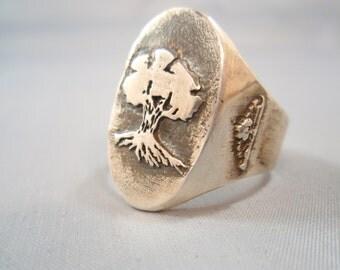 Solid Sterling Silver 925 Golani Israeli Army Idf Zahal Ring
