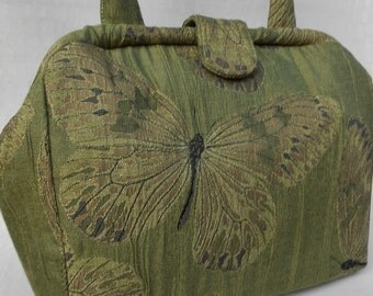 Green Butterfly Doctor Bag