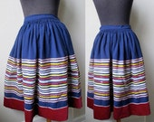 Authentic Vintage Tribal Rajasthan Banjara Kutch Indian Embroidered Gypsy Skirt