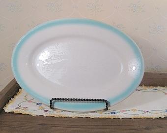 Large Vintage Buffalo China Restaurant Ware Platter