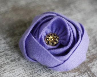 Felt Flower Sewing Pattern, Fabric Flower Sewing Pattern, Felt Flower Tutorial, Fabric Flower Tutorial, Sewing Pattern, PDF Pattern&Tutorial