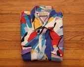 mens vintage Karman western crazy shirt
