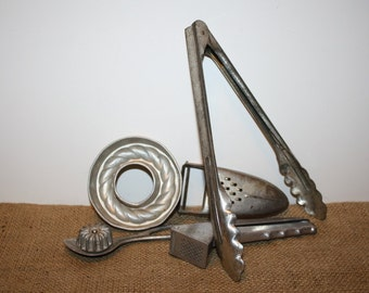 Vintage Lot of Kitchen Utensils