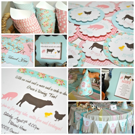 Shabby Chic Farm Party Package