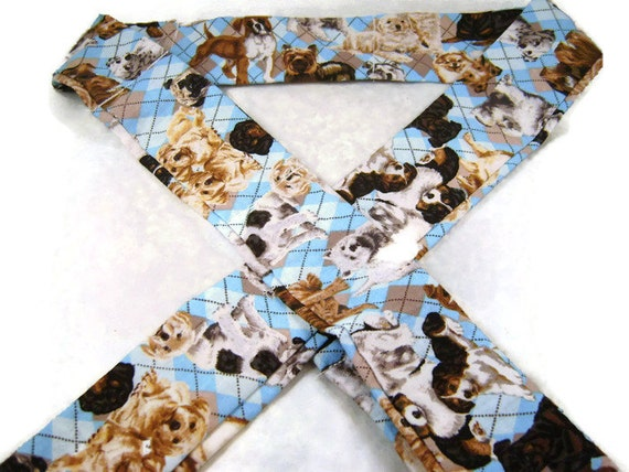 Personal Neck cooler, cooling bandana cool tie, cooling neck scarf, neck coolers adorable dogs print, keep cool