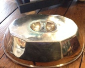 Vintage Deco Silver Platter Dome or Cover - Missouri Hotel St Louis