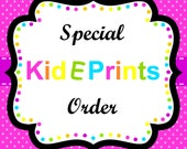 special order for Kristin - printable food labels