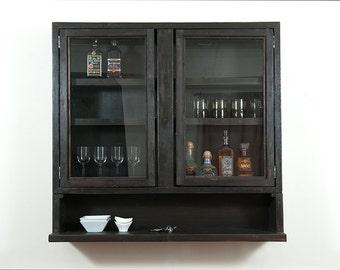 4 foot Bar / liquor bar / bar cabinet /