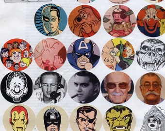 Comic Book Issue pin set!!