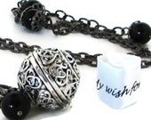 Graduation Gift / Secret Message Necklace / Hidden Message Necklace /  Inspirational Jewelry / Graduation Necklace / Inspirational Necklace