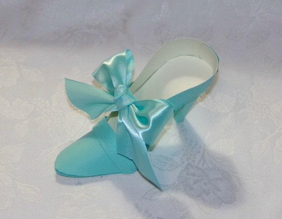 Luxury Design - Round Toe High Heel Paper Shoe Original Design -- A Precious Memory Designs