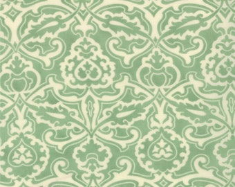 Honeysweet - Scrollwork in Pond by Fig Tree & Co for Moda Fabrics