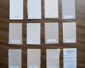Handmade Paper Sample Set