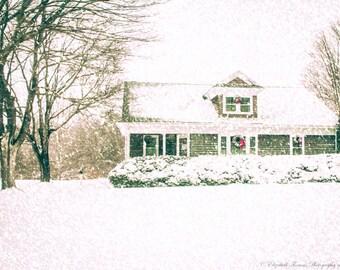 CAPE COD Photography ~ SANDWICH Massachusetts New England Winter Travel Nature Landscape Architecture Snow Scenic Liz Thomas