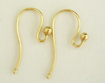 Custom listing for Isobel , 2 custom  pairs 9k hooks , one rose one yellow