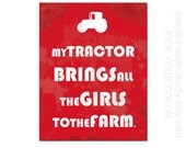 Construction Print, Kids Furniture and Decor, Construction Site, Boys Room, Tractor, Chicks Dig Me, Construction Theme, Nursery Decor