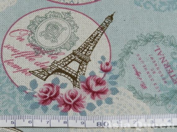 Articles similaires tissu amour romantique rose paris 3 couleurs 1 - Tissus dreyfus en ligne ...