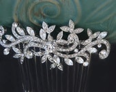 wedding hair comb rhinestone swarovski hair comb bridal hair comb bridal hair accessories wedding hair accessories bridesmaid hair comb