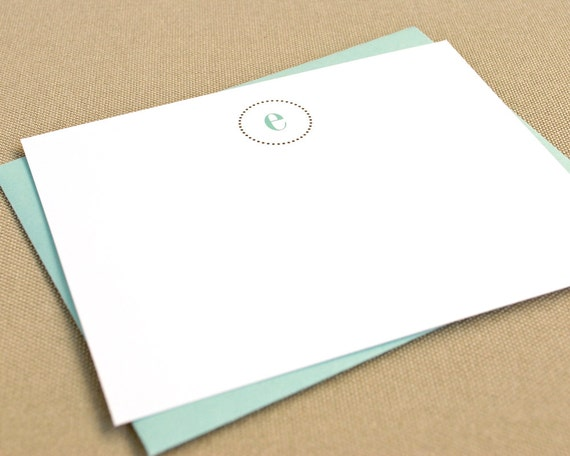 Personalized Stationery Note Cards with Monogram / Personalized Stationary with Custom Initials