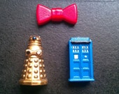 Doctor Who large magnet set