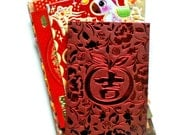 chinese red packet ephemera pack - 25 pieces