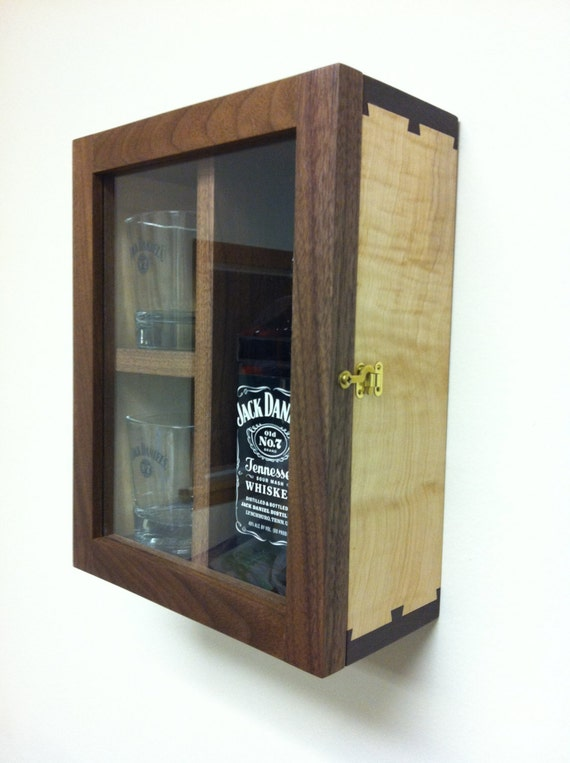how to build a whiskey cabinet