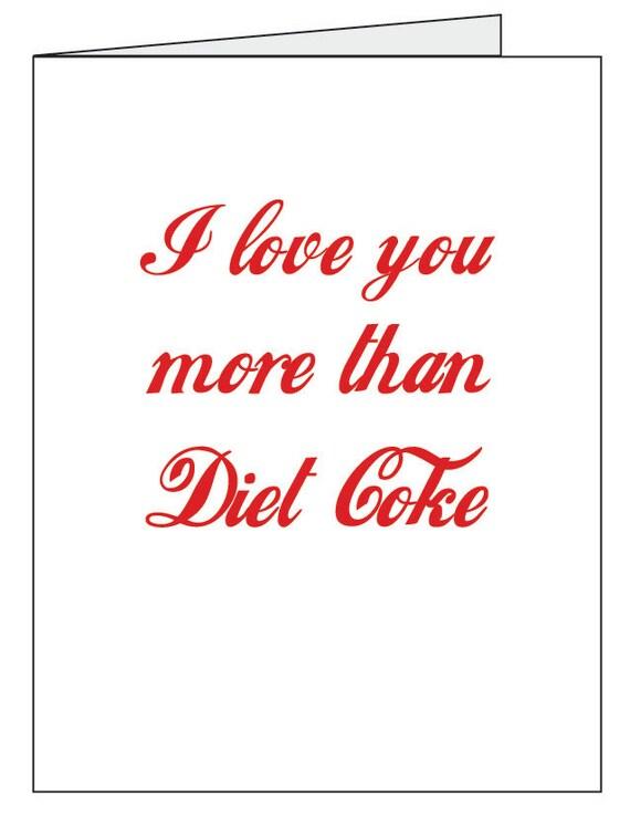 Diet Coke Card