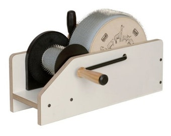 Louet Junior Drum Carder FREE Shipping Free Pound Of Fiber