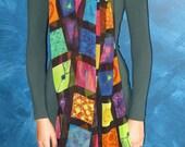 Portrait in Cells - Silk Chiffon Scarf