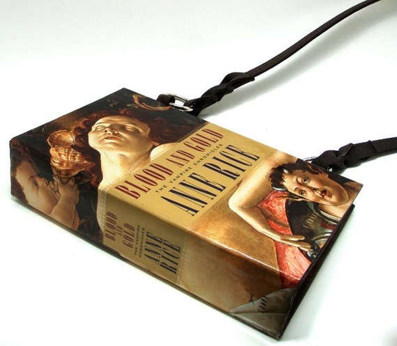 Anne Rice Vampire Chronicles Book Purse from Blood and Gold