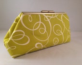 Clutch Purse - Cirque de So Green