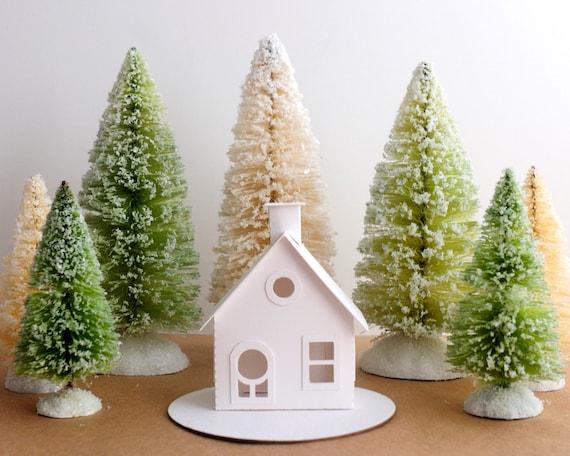 Diy Christmas Ornaments Etsy : Putz house ornament diy kit christmas by holidayspiritsdecor
