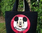 Mickey Mouse Club T-Shirt Purse