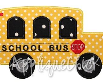 Bus Applique Design