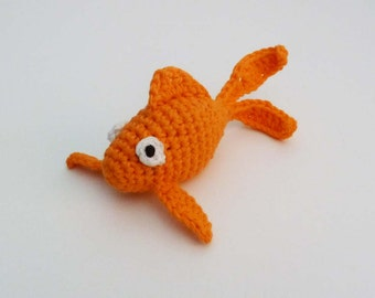 Rattle Goldfish Cat Toy - Choose Your Color