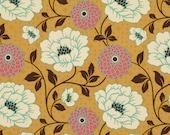 HEAVYWEIGHT - DAHLIA in Honey - Joel Dewberry BUNGALOW - Home Decor Cotton -  - Free Spirit Fabric - SAJD021 - 1 yard