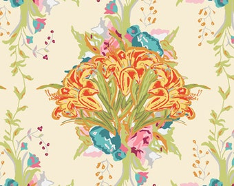 Lilly Bouquet Light (LB-2108) - Lilly Belle - Bari J for Art Gallery Fabrics - By the Yard