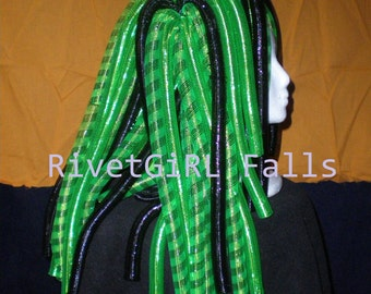 MADE TO ORDER Custom Tubular Crin Cyberlox Hairfalls by RivetGiRL Falls